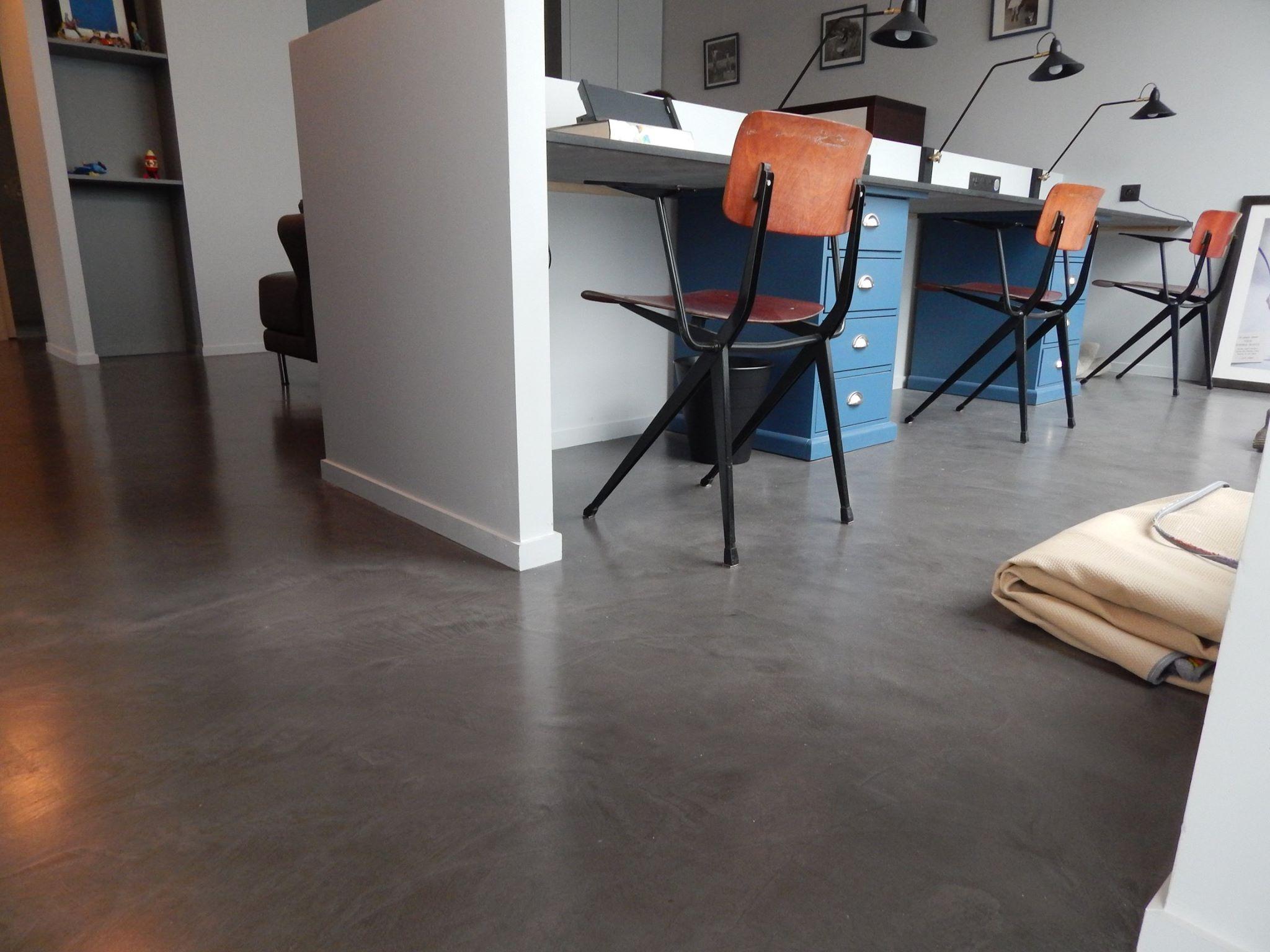 Résine Béton Ciré Plan De Travail beton ciré, béton ciré versailles, béton ciré nanterre