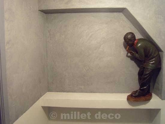 Peinture et enduits d coratifs b ton cir resines hauts - Peinture decorative stucco ...